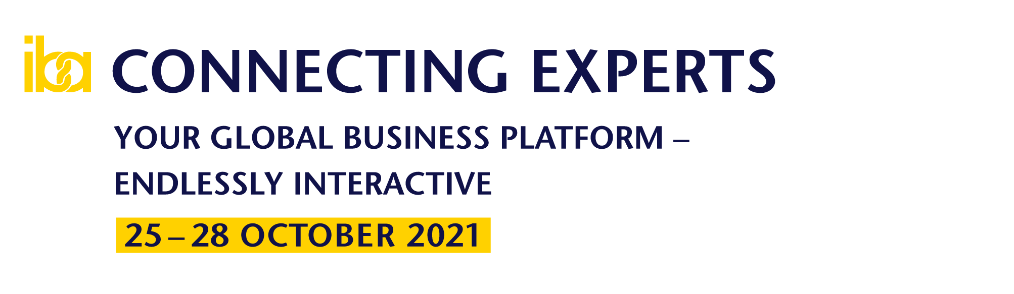 iba.CONNECTING EXPERTS logo